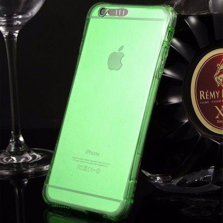 Handy Hülle LED Licht bei Anruf für Handy Apple iPhone 5 / 5s / SE Grün – Bild 2