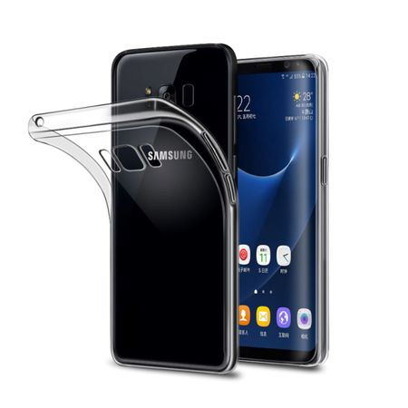 Samsung Galaxy S8 Transparent Case Hülle Silikon