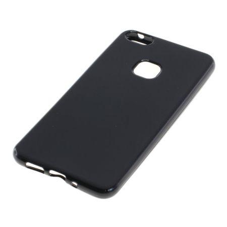 Handy Hülle TPU Schutz Case Bumper Schale für Huawei P10 Lite Schwarz – Bild 2