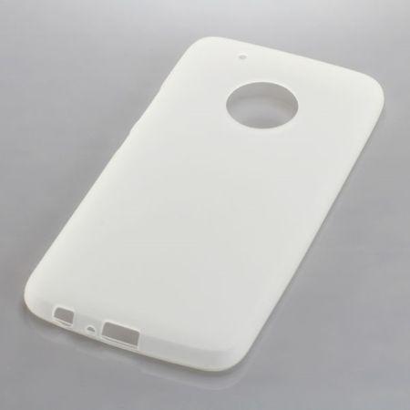 Handy Hülle TPU Schutz Case Bumper Schale für Motorola Moto G5 Plus Transparent