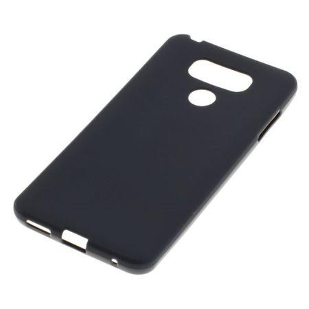 Handy Hülle TPU Schutz Case Bumper Schale für LG G6 Schwarz