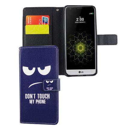 Handyhülle Tasche für Handy LG G6 Dont Touch my Phone
