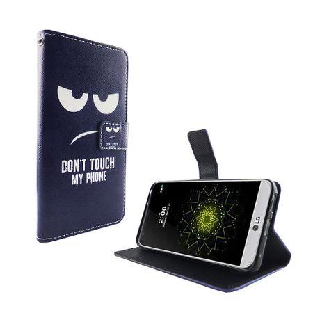Handyhülle Tasche für Handy LG G6 Dont Touch my Phone – Bild 5