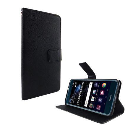 Handyhülle Tasche für Handy Huawei P10 Lite Schwarz – Bild 2
