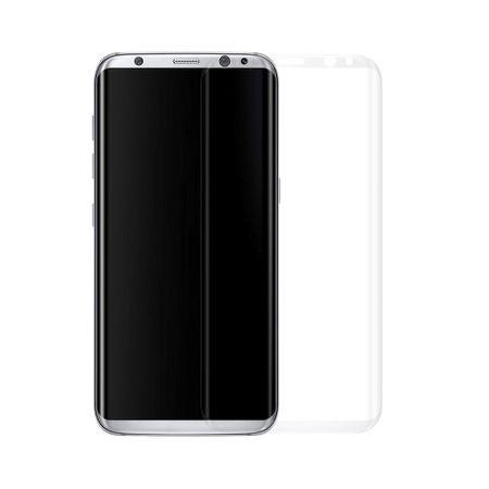 Samsung Galaxy S8 3D Panzer Glas Folie Display 9H Schutzfolie Hüllen Case Transluzent