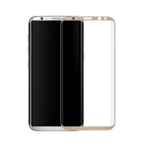Samsung Galaxy S8+ Plus 3D Panzer Glas Folie Display 9H Schutzfolie Hüllen Case Gold