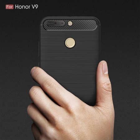 Huawei Honor Note 8 Pro TPU Case Carbon Fiber Optik Brushed Schutz Hülle Blau – Bild 9