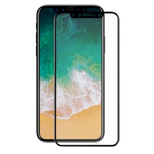 Apple iPhone X 3D Panzer Glas Folie Display Schutzfolie Hüllen Case Schwarz