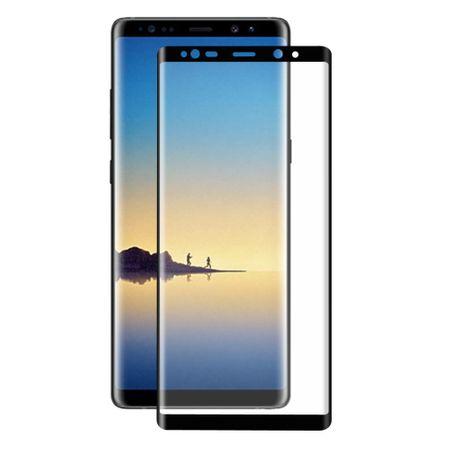 Samsung Galaxy Note 8 3D Panzer Glas Folie Display Schutzfolie Hüllen Case Schwarz