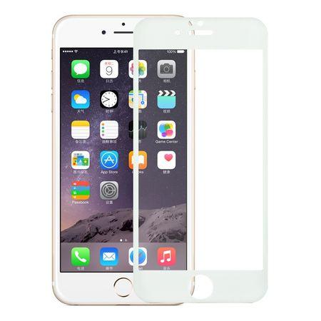 Apple iPhone 6 / 6s 3D Panzer Glas Folie Display 9H Schutzfolie Hüllen Case Weiß