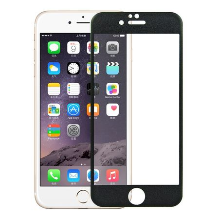Apple iPhone 6 Plus / 6s Plus 3D Panzer Glas Folie Display 9H Schutzfolie Hüllen Case Schwarz