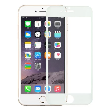 Apple iPhone 6 Plus / 6s Plus 3D Panzer Glas Folie Display 9H Schutzfolie Hüllen Case Weiß