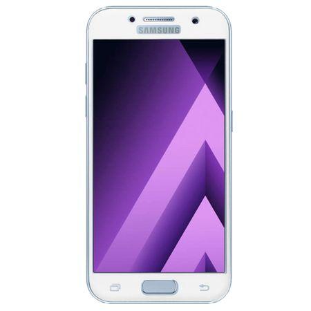 Samsung Galaxy A3 2016 3D Panzer Glas Folie Display 9H Schutzfolie Hüllen Case Weiß