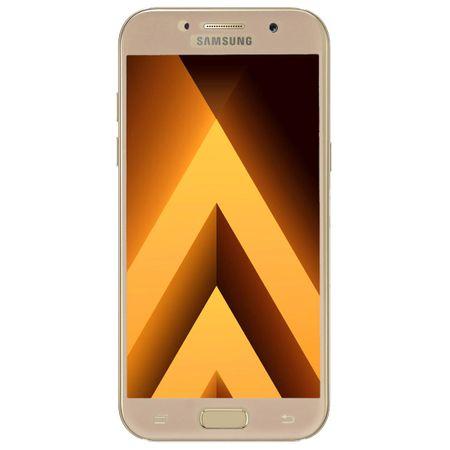 Samsung Galaxy A3 2016 3D Panzer Glas Folie Display 9H Schutzfolie Hüllen Case Gold