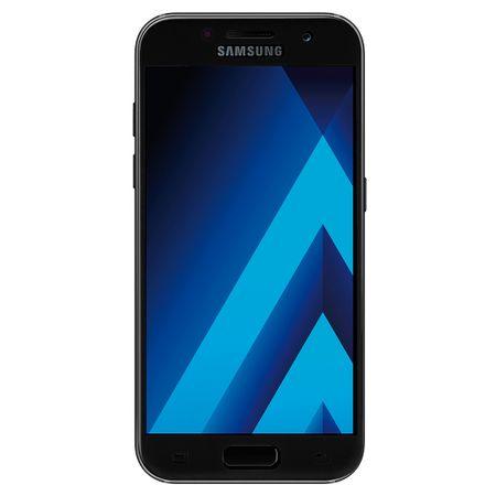 Samsung Galaxy A3 2017 3D Panzer Glas Folie Display 9H Schutzfolie Hüllen Case Schwarz