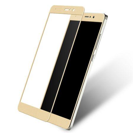 Xiaomi Mi 5s Plus 3D Panzer Glas Folie Display 9H Schutzfolie Hüllen Case Gold – Bild 1