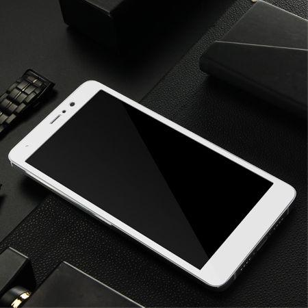 Xiaomi Mi Mix 2 3D Panzer Glas Folie Display 9H Schutzfolie Hüllen Case Weiß – Bild 4