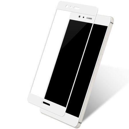 Huawei P10 3D Panzer Glas Folie Display 9H Schutzfolie Hüllen Case Weiß