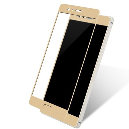 Huawei Enjoy 7 3D Panzer Glas Folie Display 9H Schutzfolie Hüllen Case Gold – Bild 1