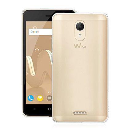 Handy Hülle für Wiko Jerry 2 Transparent Smartphone Cover Bumper Schale Etuis