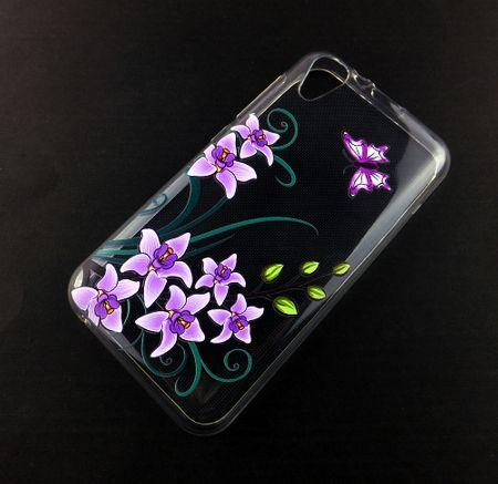 Handy Hülle für Wiko Sunny 2 Lotusblume Smartphone Cover Bumper Schale Etuis – Bild 1
