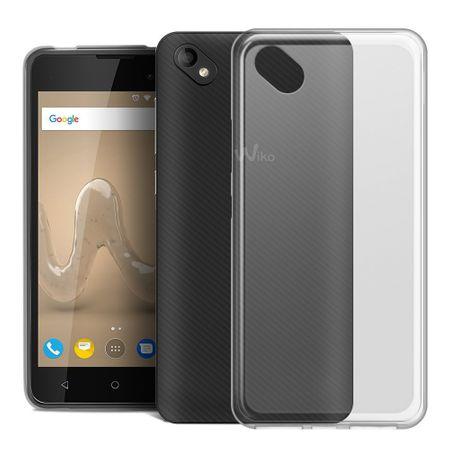 Handy Hülle für Wiko Sunny 2 Transparent Smartphone Cover Bumper Schale Etuis – Bild 1