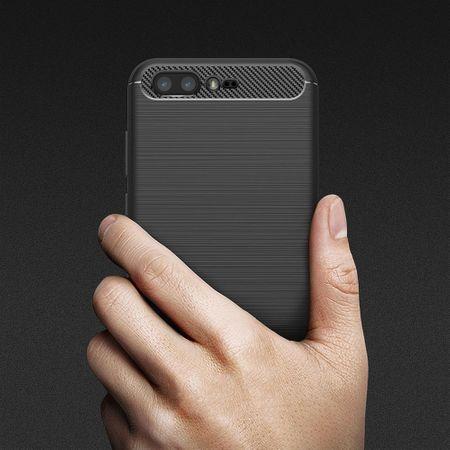 Asus Zenfone 4 Pro ZS551KL TPU Case Carbon Fiber Optik Brushed Schutz Hülle Schwarz – Bild 10