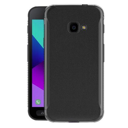 Samsung Galaxy Xcover 4 Transparent Case Hülle Silikon – Bild 3