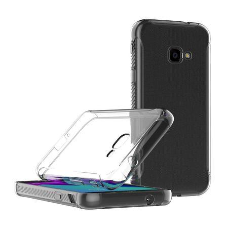 Samsung Galaxy Xcover 4 Transparent Case Hülle Silikon – Bild 4