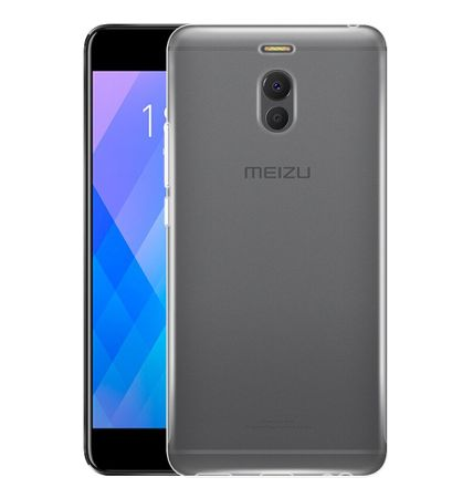 Meizu M6 Note Transparent Case Hülle Silikon