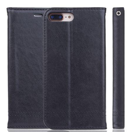 Handy Hülle Schutz Tasche für Apple iPhone 7 Plus Cover Wallet Etui Schwarz – Bild 7