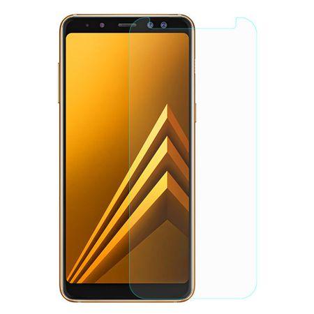 Samsung Galaxy A8 Plus 2018 Displayschutzfolie 9H Verbundglas Panzer Schutz Glas Tempered Glas – Bild 2