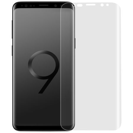 Panzer Folie 3D für Samsung Galaxy S9 Plus Display Schutz Folie Full Cover KLAR