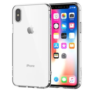 Apple iPhone X Transparent Case Hülle Silikon