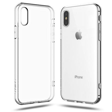 Apple iPhone X Transparent Case Hülle Silikon – Bild 3