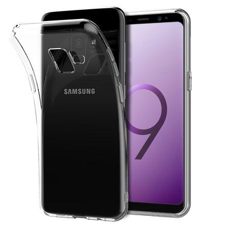 Samsung Galaxy S9 Transparent Case Hülle Silikon