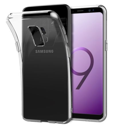 Samsung Galaxy S9 Plus Transparent Case Hülle Silikon