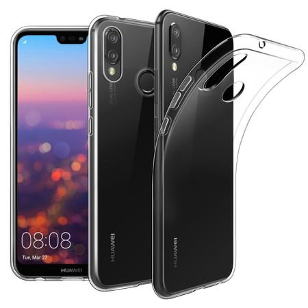 Huawei P20 Lite Transparent Case Hülle Silikon