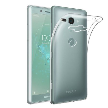 Sony Xperia XZ2 Compact Transparent Case Hülle Silikon
