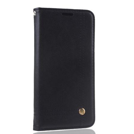 Handy Hülle Schutz Tasche für Huawei P20 Lite Cover Wallet Etui Schwarz – Bild 3