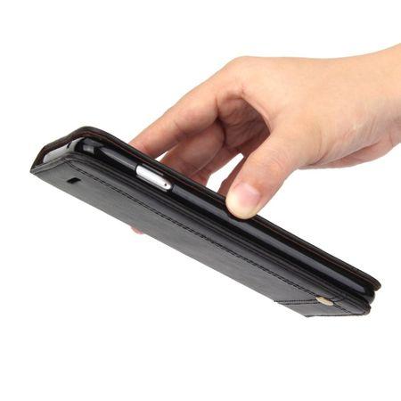 Handy Hülle Schutz Tasche für Sony Xperia XZ2 Cover Wallet Etui Grau – Bild 4