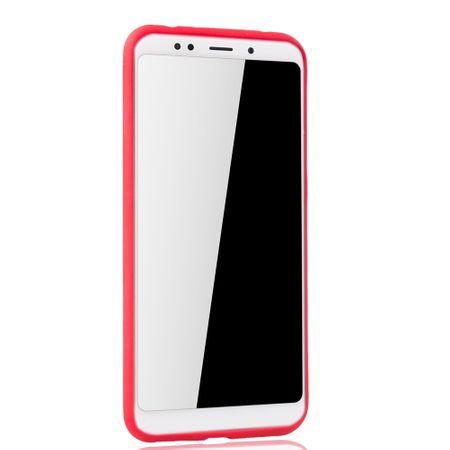 Ultra Slim Case für Xiaomi Redmi 5 Plus Handyhülle Schutz Cover Rot – Bild 2