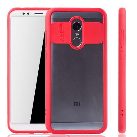 Ultra Slim Case für Xiaomi Redmi 5 Plus Handyhülle Schutz Cover Rot – Bild 4