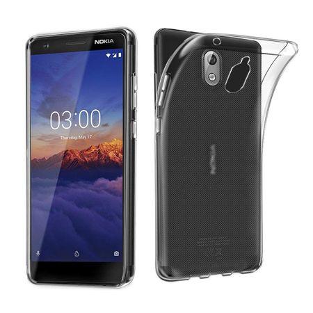 Nokia 3.1 Transparent Case Hülle Silikon