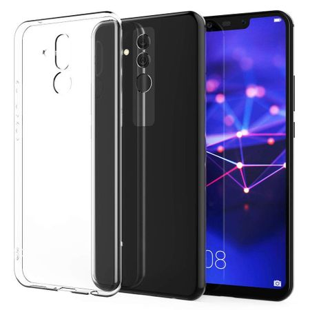 Huawei Mate 20 Lite Transparent Case Hülle Silikon