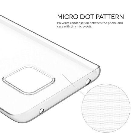 Huawei Mate 20 Pro Transparent Case Hülle Silikon – Bild 5