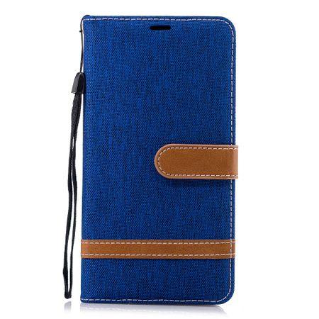Tasche für Nokia 2.1 Jeans Cover Handy Schutz Hülle Case Blau – Bild 2