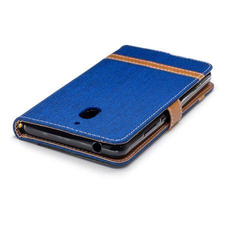 Tasche für Nokia 2.1 Jeans Cover Handy Schutz Hülle Case Blau – Bild 7