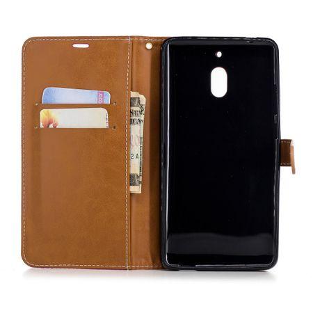 Tasche für Nokia 2.1 Jeans Cover Handy Schutz Hülle Case Pink – Bild 8