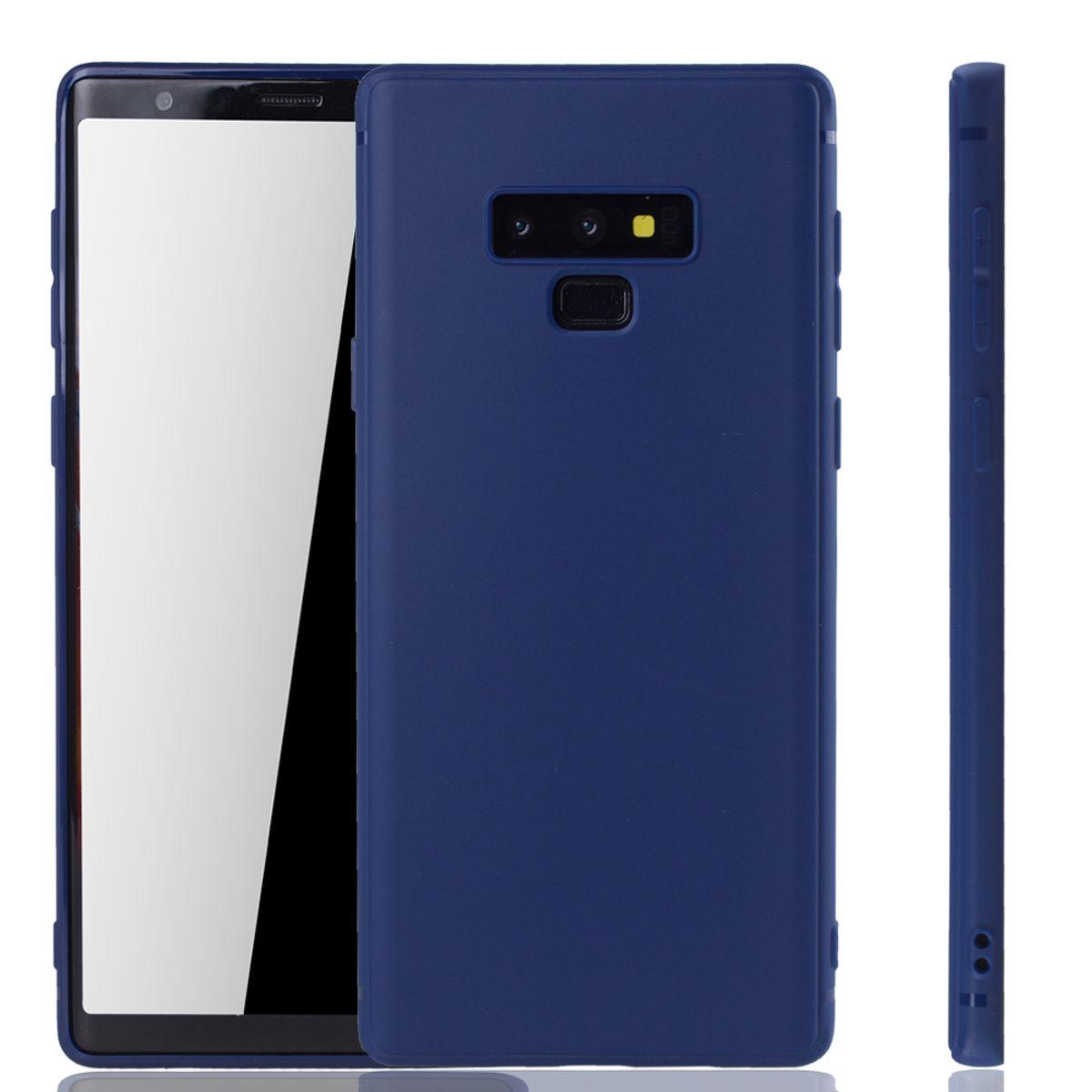 Galaxy Hülle Blau Note Backcover Samsung 9 Tasche Handyhülle Case Schutzcase qSzpMGUV